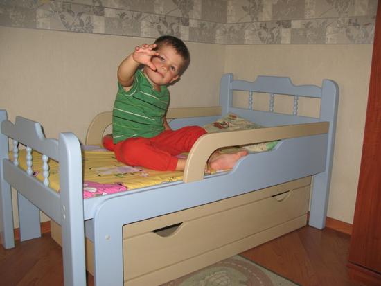 Схема кровати я расту