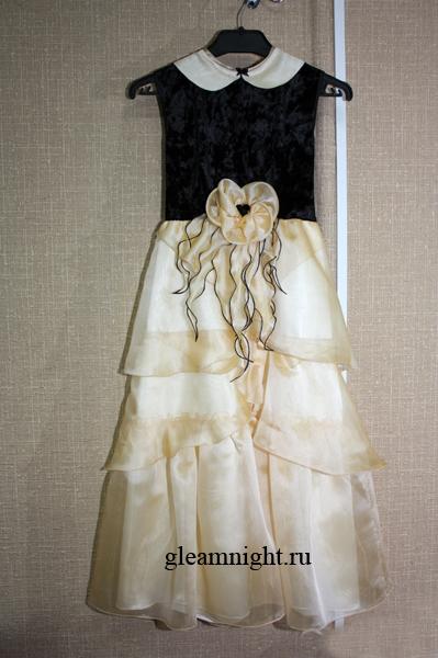 Детское вечернее платье КиевскаяШирина.  Tujinn.  46335 байтДобавлено.
