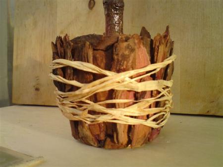 Поделки из коры дерева своими руками
