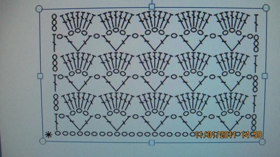 Вязание крючком схемы простых узоров