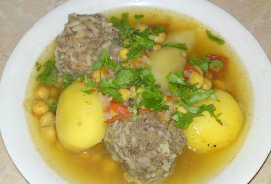 Суп баранина и нут рецепты - Бульоны и супы