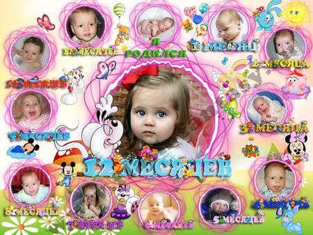 Примеры плакатов на день рождения