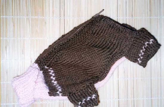 Модные вязанные сарафан