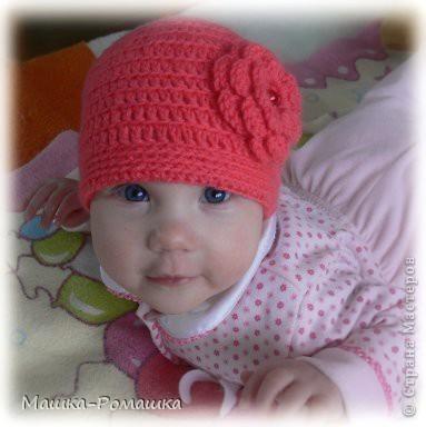 шапочка на осень крючком - Выкройки одежды для детей и взрослых.