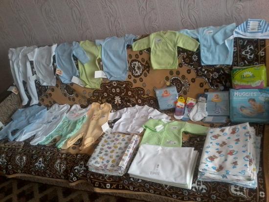 Что понадобится новорожденному в первые месяцы