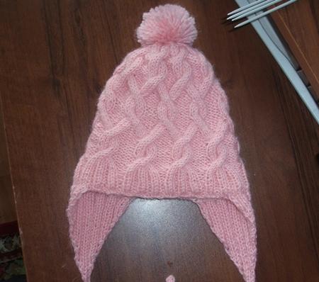 первый мой реглан! свитер доче. шапочка на теплую зиму, двойная.