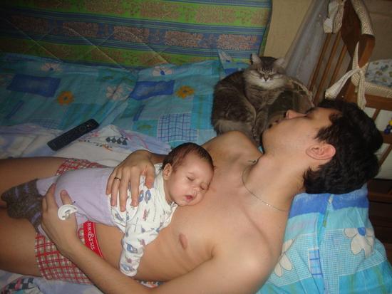 В контакте фото спящие голые