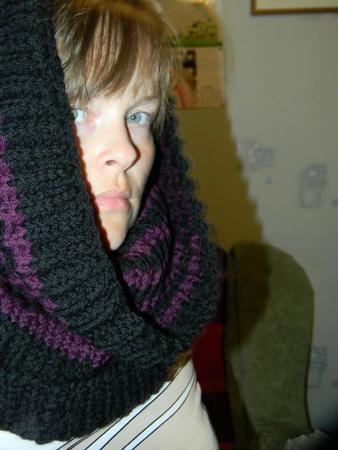 Связала на заказ шарф трубу.