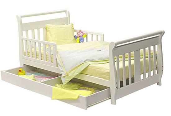 Кровать для ребенка от 3 лет с бортиком