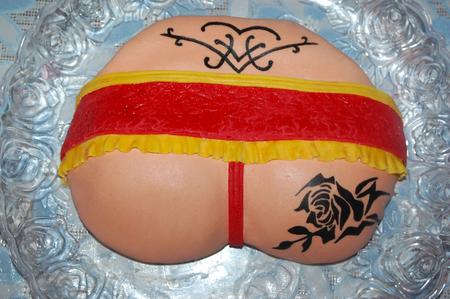 картинка торт жопа