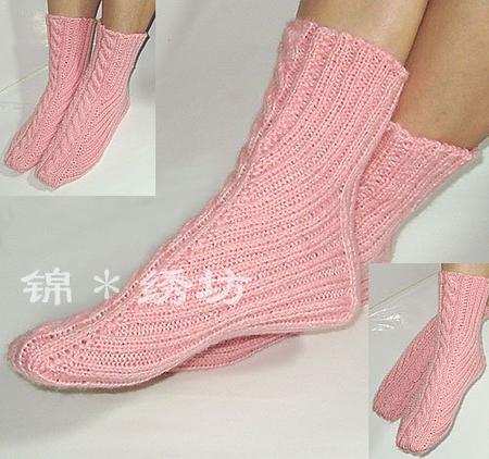 Вязать носки крючком схема