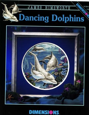 схема дельфина для вышивания - Практическая схемотехника.