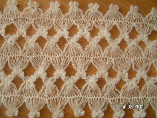 Другие виды рукоделия. Вязание на вилке 13