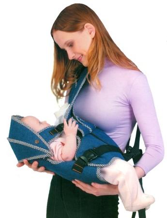 Рюкзак-кенгуру трансформер для ношения детей с рождения, модель.