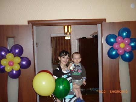 Второй День рождения сыночка!!! :) - второй день рождения