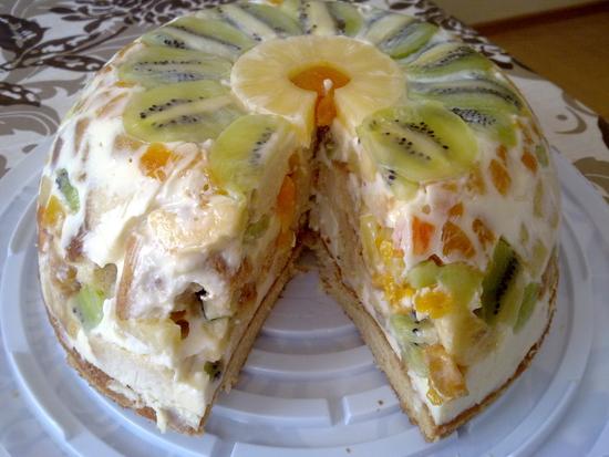 Торт Наслаждение - Вкуснота!
